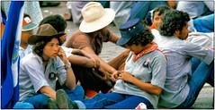 la lasitud (yvesgalland) Tags: nicaragua managua 1980 alphabetizacion cruzada