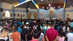 Mas de 400 jovenes en el encuentro de confirmacion en la parroquia de la Stma. Trinidad de Guayacan