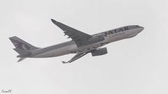 Qatar Cargo A330 (A7-AFZ) departing VAAH (faram.k) Tags: a330 a7afz airbus aircraft backlight cargo jet qatarairways ahmedabad gujarat india in