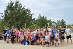 """""""Vega 1"""" pludmales volejbola un tenisa līgas 5.posms, 2017.gada 16.augustā. Foto: Kristīne Austere"""