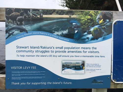 Stewart Island visitor levy