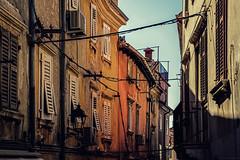 Colorful alley (Paweł Szczepański) Tags: piran slovenia si
