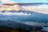 Fuji and cap cloud (shinichiro*) Tags: 20140501ds17736edithdr 2017 crazyshin nikond4s afsnikkor70200mmf28ged may spring yamanashi japan jp fuji capcloud 笠雲 35990071824 2280682 201802gettyuploadesp