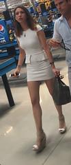 IMG_6518 (Deep Blue Shark) Tags: woman girl beautiful beauty cute body face candid street beach legs