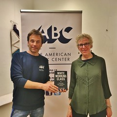 Joan C Williams at The ABC Treehut in The Hague (The American Book Center) Tags: law politics author professor bookevent bookpresentation american book thehague americanbookcenter