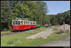 TTA AR.133 + A.1344 + A.1208 - Amonines (Spoorpunt.nl) Tags: 6 augustus 2017 tta tramway touristique de laisne vicinal buurtspoorwegen erezée mazouttram motorwagen ar133 autorail pont dérezée a 1344 1208 bijwagen amonines