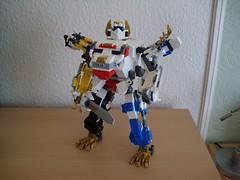 Noble Fusion Jagiełł'oh (Śląski Hutas) Tags: lego moc bricks ranger sentai animals mech robo futuristic scifi tokusatsu poland polska