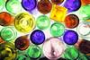 glass on glass (*Chris van Dolleweerd*) Tags: glass bottles colors pov winebottles beer beerbottle wine drink liquid series studio strobist chrisvandolleweerd