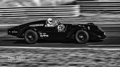 Historic Grand Prix Zandvoort (<<<< peter ijdema >>>>) Tags: zandvoort noordholland nederland nl prewarsportscars prewar sportscars historicgrandprix blackandwhite