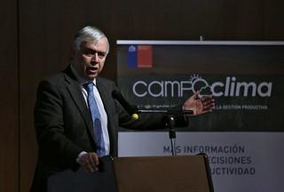 Catastro Frutícola 2017 de la Región Metropolitana y el lanzamiento de Campo Clima
