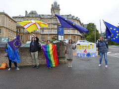Dorset 4 Europe (auroradawn61) Tags: dorset4europe bournemouth dorset uk england 2017 september politics europe lumixlx100 proeurope antibrexit flags