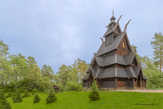 Ancient Stave Church, Norway