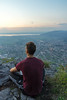 See the sun set (chrizzle dizzle) Tags: view mountains rheintal bodensee dornbirn austria sunset vorarlberg scenic