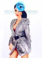 Giselle (Michaela Unbehau Photography) Tags: integrity toys giselle diefendorf glam addict jacket vjhon fashion royalty fr fr2 nuface wclub silver raven portrait michaela unbehau fashiondoll doll dolls toy photography mannequin model mode puppe fotografie