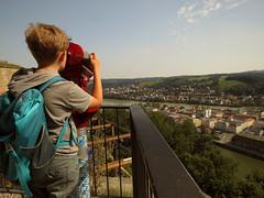 Veste Oberhaus, Passau (aniko e) Tags: passau travel summer view city rivers threerivers donau danube inn ilz duna