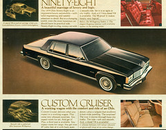 1979 Oldsmobile Ninety-Eight 4 Door Sedan (coconv) Tags: car cars vintage auto automobile vehicles vehicle autos photo photos photograph photographs automobiles antique picture pictures image images collectible old collectors classic ads ad advertisement postcard post card postcards advertising cards magazine flyer prestige brochure dealer 1979 oldsmobile ninetyeight 4 door sedan 98 79 black regency custom cruiser station wagon