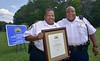 Germanna earns Crime Prevention Campus recognition (Germanna CC) Tags: 2017 august25 fridayafternoon gcc germannacommunitycollegecouncil lgc locustgrovecampus locustgrove va usa captkarenhouchens chiefcraigbranch branch crimeprevention