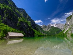 Obersee (Saaliahc) Tags: germany nature natur landscape landschaft lake mountains colors omdm5 outdoor