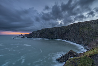 Hartland Quay at Sunrise, North Devon