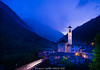 Stormy night is approaching towards the charming  Larvetezzo town 170705-untitled-385.jpg (flia gitterle) Tags: summer2017 switzerland europe verzascavalley lavertezzo stormnight nightsshots oldtowns ticino ch