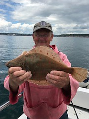 "Barry Moore with Plaice • <a style=""font-size:0.8em;"" href=""http://www.flickr.com/photos/113772263@N05/36458825085/"" target=""_blank"">View on Flickr</a>"