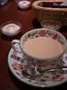 Time for tea... (Long Sleeper) Tags: drink cafe teasalongclef tea milk cup spoon saucer koenji tokyo japan dmcgx1