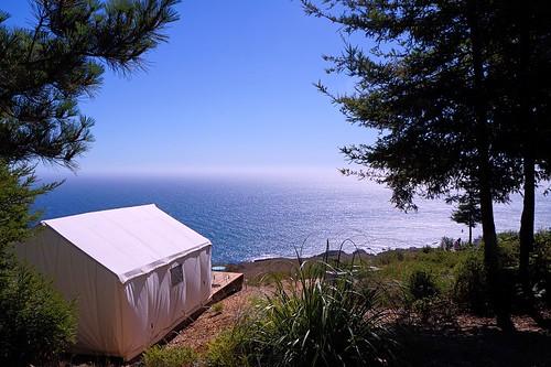 Terra Glamping- Tent and Ocean