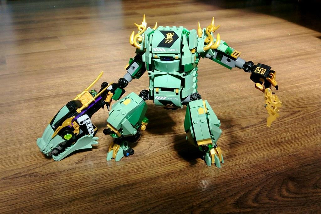 how to make a lego ninjago dragon