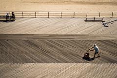 Board walk (kzoop) Tags: brooklyn nyc newyork newyorkcity coneyisland coney beach boardwalk lines