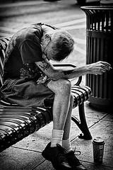 SP2 (Christopher J. Hobel) Tags: street despair besieged documentary streetportrait bw