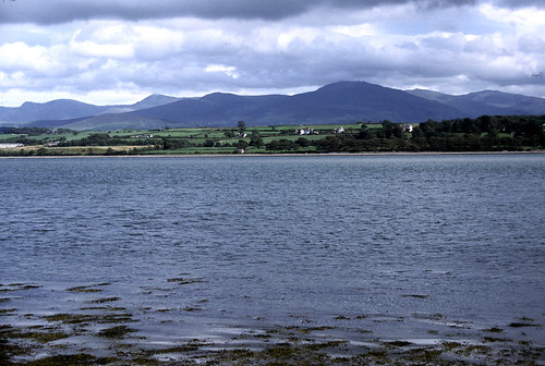 Snowdonia from the Menai Straits
