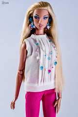 Elegant Look from Natalia (elenpriv) Tags: natalia seashore rebel integrity toys jason wu fashion doll fashionroyalty fr2 handmade elenpriv elena peredreeva colorful summer collection