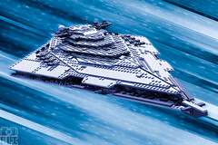 FIRST ORDER STAR DESTROYER (kyle.jannin) Tags: lego legostarwars legostarwarstheforceawakens starwars starwarstheforceawakens firstorder star destroyer thefirstorder first order hyperspace space stars finalizer kyloren legophotography