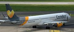 Airbus A-321 D-AIAH (707-348C) Tags: dusseldorfairport condor airliner jetliner airbus airbusa321 dusseldorf condorflugdienst daiah thomascook passenger eddl dus cfg a321
