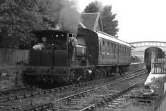 2017-07-30; 020. Barclay No 1863, 'Wee Barclay' (build 1926, Anglo-Scottish Sugar Beet co., Cupar). Bridge of Dun (Martin Geldermans; treinen, Züge, trains) Tags: caledonianrailway brechin bridgeofdun barclay 040 barclay1863 weebarclay steamlocomotive steamtrain steam stoomtrein stoom stoomlocomotief dampf dampfzüge dampflok
