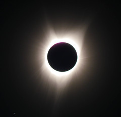 Totality - eclipse viewing in Sumpter, Oregon (Wayne~Chadwick) Tags: eclipse oregon