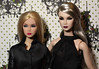 Lilith x 2 (Nadine Gomes) Tags: wclub exclusive integrity toys fashion royalty nu face lilith blair smoke mirrors doll 2017 nuface the great pretender 2010