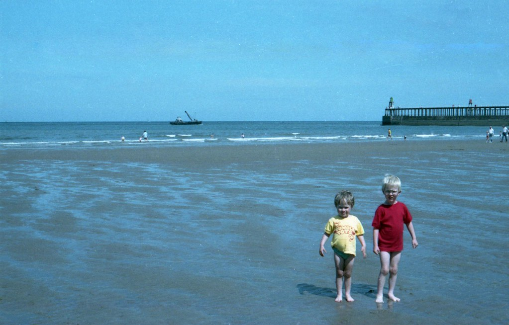 Jonny And Will At Whitby