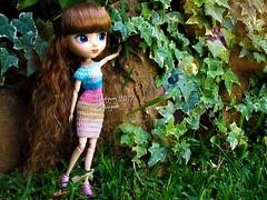 (Linayum) Tags: pullip pullipdita pullips junplanning pullipdoll kawaii doll dolls muñeca muñecas toys handmade crochet ganchillo garden green linayum