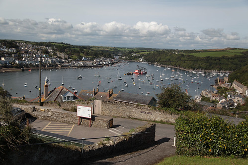 River Fowey - from Polruan