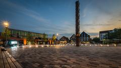 Marktplatz 2 (fotos_by_toddi) Tags: fotosbytoddi voerde niederrhein nrw nordrhein westfalen wolken deutschland germany sony sonya7 sky sonyalpha7 alpha a7 alpha7 sonnenuntergang sundown lights licht explored