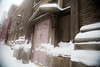 Snow downtown-Blizzard 2016 (Kielrah) Tags: snowing doors cityscape street view blizzard 2016 tanimurphy tani murphy snow snowpocalypse washingtondc washington dc dmv national mall nationalmall
