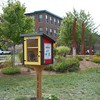 Little Free Library, Park Social, Nashua NH (gorydetails) Tags: bookcrossing littlefreelibrary nashua