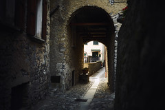 Passage (Marc R. A.) Tags: passage italy como a7r2 zeiss city street framing light dark