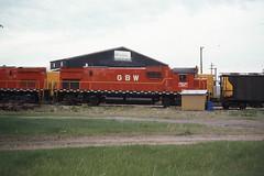GB&W C430 #315 in Winona MN on 5-22-76 (LE_Irvin) Tags: c424 c430 gbw winonamn