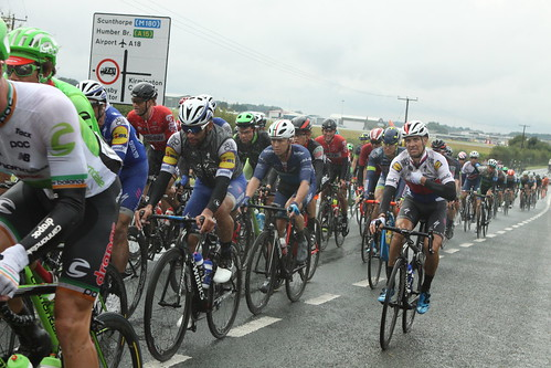 Tour of Britain stage 3 Humberside airport.