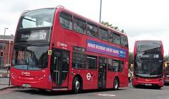 Arriva London T102 on route 157 Morden station 05/09/17. (Ledlon89) Tags: bus buses london londonbus londonbuses tfl transport londongeneral goaheadlondon general morden station surrey