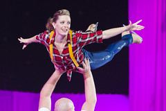 DUQ_4366r (crobart) Tags: figure skating pairs aerial acrobatics ice cne canadian national exhibition toronto