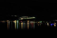 Day 263: Skaha Lake at Night (Antonio Cangiano) Tags: penticton britishcolumbia canada ca day263 365 365project project365 redditphotoproject picoftheday okanagan okanaganphotographer pentictonbc explorepenticton visitpenticton beautifulbc hellobc visitbc awesomeearthpix landscapelovers landscapes lake skahalake night longexposure ilovebc beautifuldestinations awesomeglobe fantasticearth earthpix