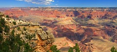 Grand Canyon, August 2017 (JonM26) Tags: grandcanyon nationalpark arizona canyon coloradoriver landscape rock sandstone erosion usa august summer 2017 sunny tourism hiking
